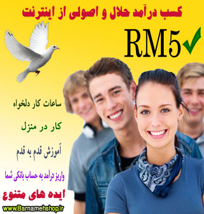 آموزش روشهای واقعی و تضمینی کسب درامد از اینترنت (RM5)